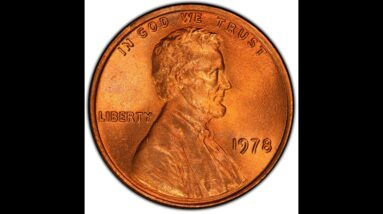 $4,259.38 Lincoln cent in this 1978 A Year in Review